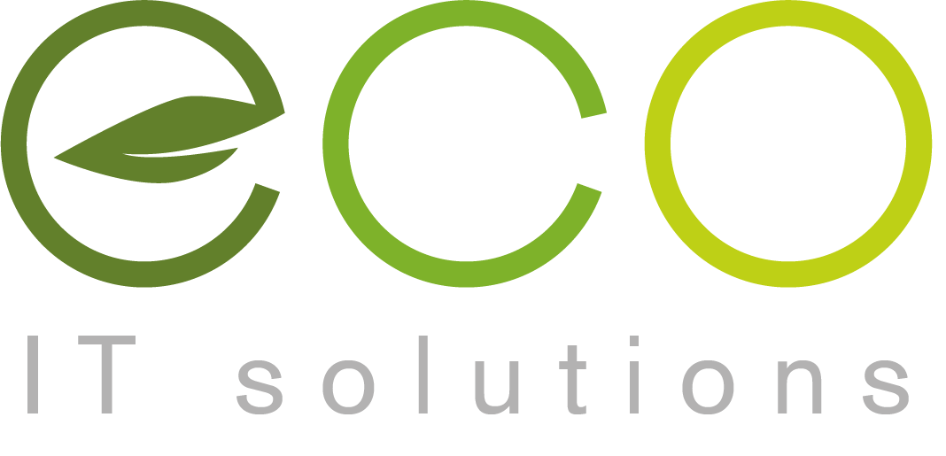 eco IT solutions logo colored